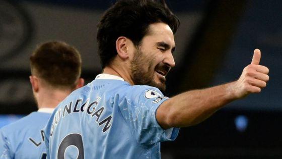Manchester City from Ilkay Gundogan