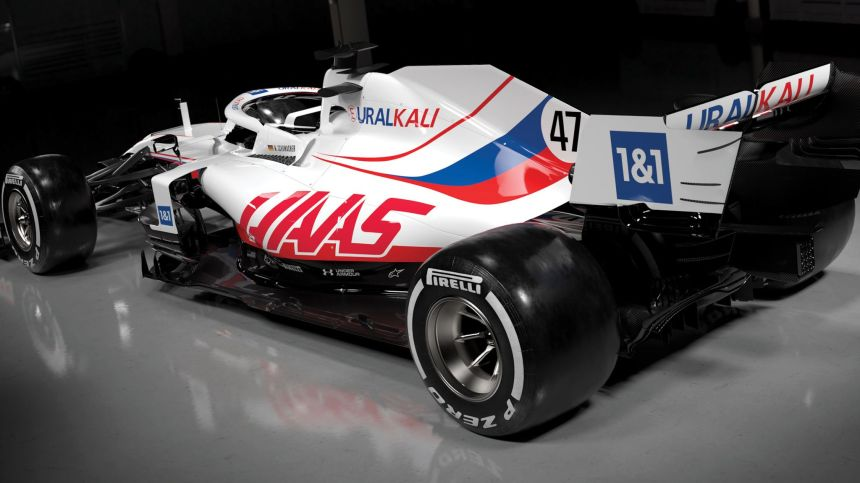 Haas unveil new-look livery for 2021 Formula 1 season for all-rookie Mick  Schumacher, Nikita Mazepin line-up | F1 News