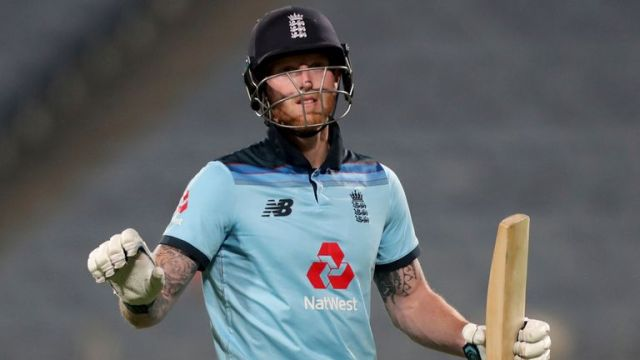 England's Ben Stokes averages 40 in ODIs, with three hundreds and 20 fifties