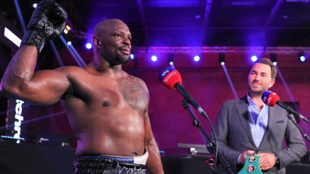 Dillian Whyte, Eddie Hearn