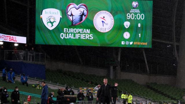 The result leaves Ireland with a mountain to climb in Group A