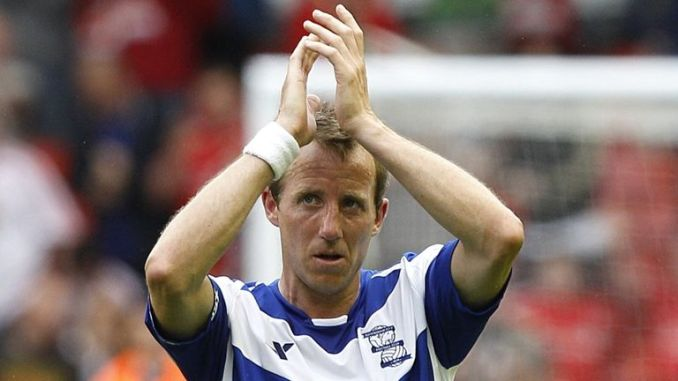 Lee Bowyer played for Birmingham for two years in the Premier League between 2009 and 2011 (PA)
