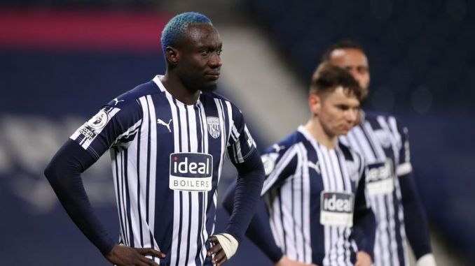 Mbaye Diagne was denied a late equaliser for West Brom