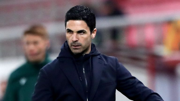 Mikel Arteta is hoping his side can take their fine north London derby performance into their crucial Europa League second-leg