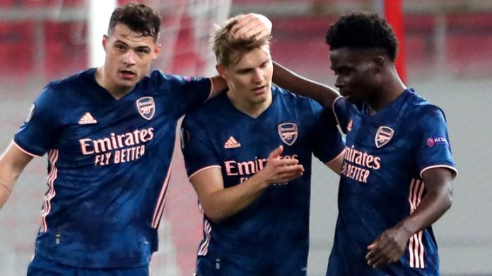 Odegaard is already popular in the Arsenal dressing room