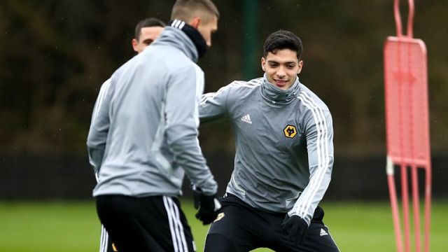 Raul Jimenez recently returned to training with Wolves