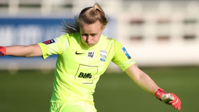 Birmingham City goalkeeper Hannah Hampton has been called up to the England squad