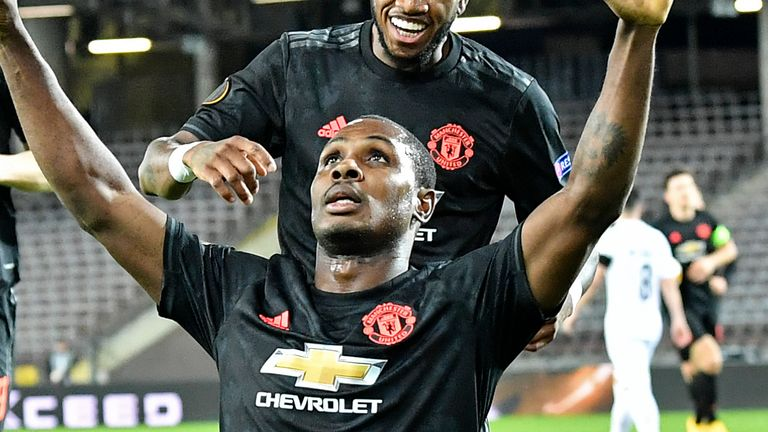 Odion Ighalo says all his dreams came true when he signed for Manchester United.