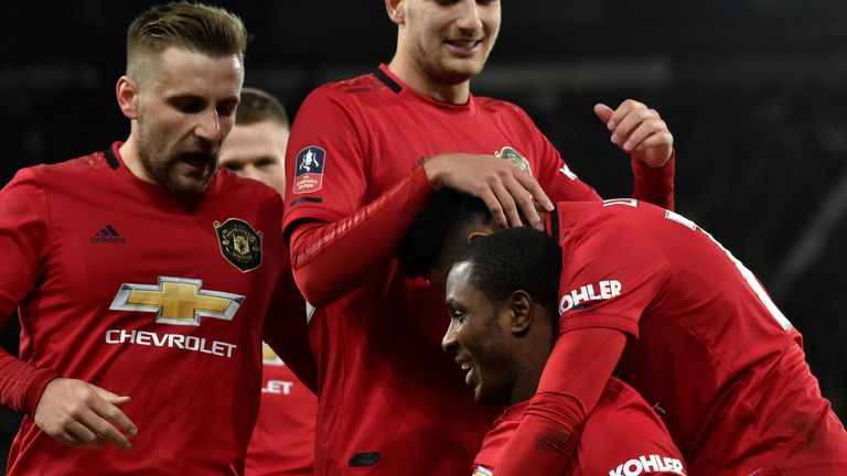 Odion Ighalo says he loved every minute of his time at Manchester United - with the coach, players and fans.