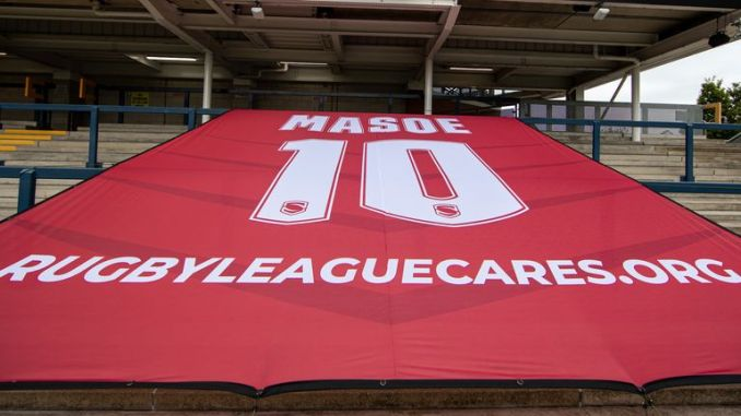 Leeds players and staff will donate £20 to the Mose Masoe Foundation