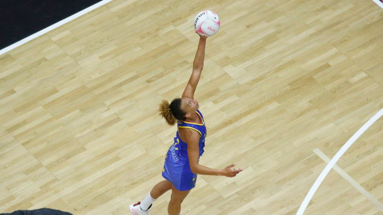 Serena Guthrie and Team Bath Netball will look to return to winning ways (Image Credit - Morgan Harlow)
