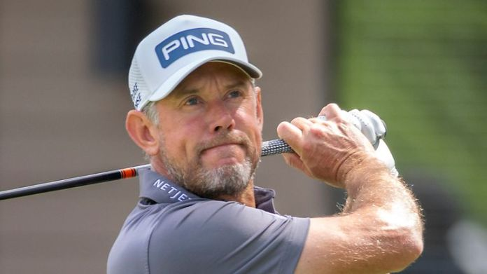 Lee Westwood's 64 lifted him 95 places up the leaderboard