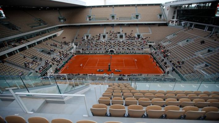 Court Philippe Chatrier will see more spectators watching the action at this year's French Open