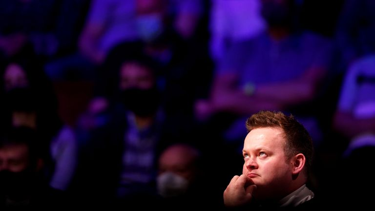 Murphy was looking to win his first Crucible title since 2005