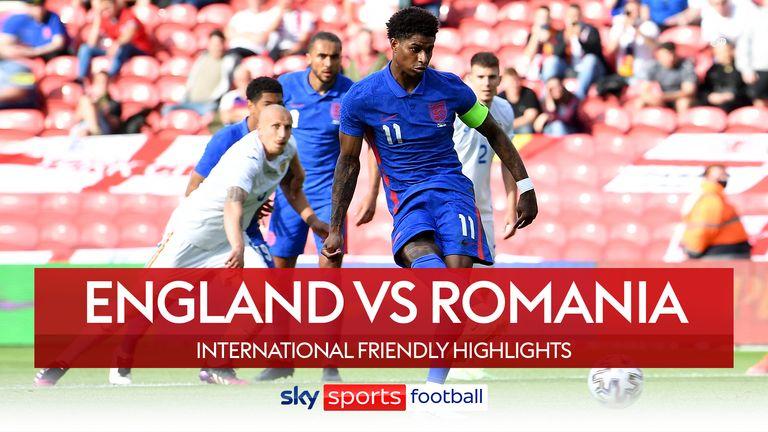 ENGLAND 1-0 ROMANIA