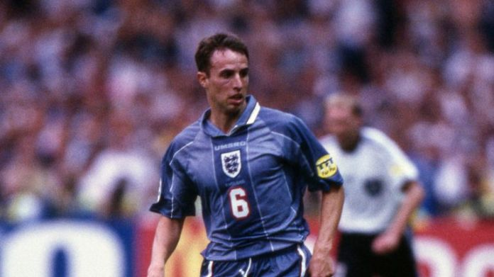 Gareth Southgate played every minute of England's Euro 96 campaign