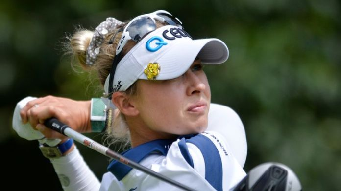 Nelly Korda was critical of the pace of play