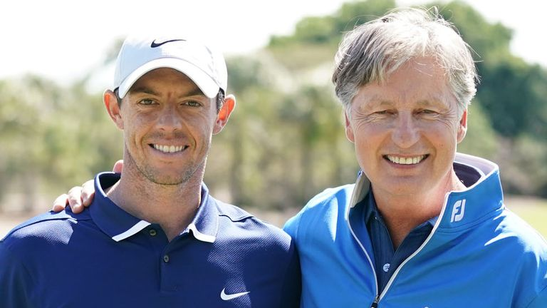 McIlroy features in 'Playing Lessons' as he shares his knowledge of the game