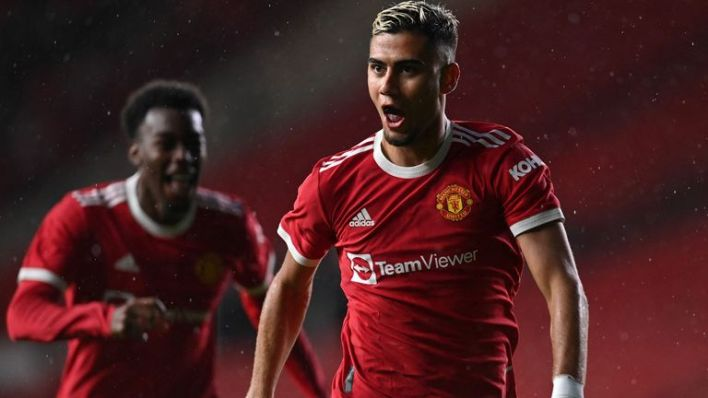Andreas Pereira hit a quite sublime volley for Man Utd against Brentford