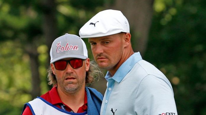 Bryson DeChambeau missed the cut by two shots