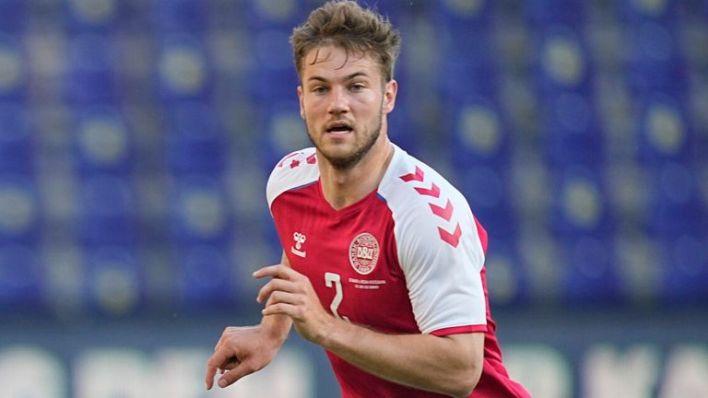 Joachim Andersen  made three appearances for Denmark at Euro 2020 (AP)