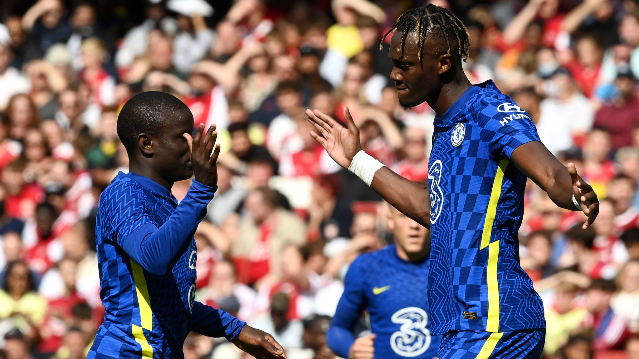 Arsenal 1-2 Chelsea: Thomas Tuchel's side secure confidence-boosting  victory at Emirates | Football News | Sky Sports