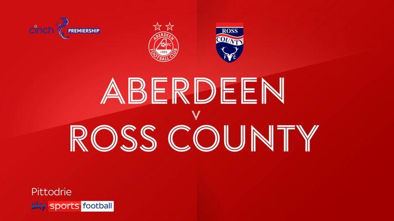 Aberdeen vs Ross County
