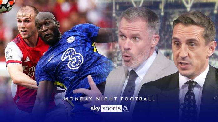 Gary Neville and Jamie Carragher discuss Arsenal vs Chelsea on Monday Night Football