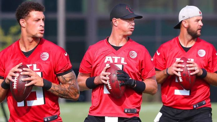 The Atlanta Falcons have completed their team-wide COVID-19 vaccination