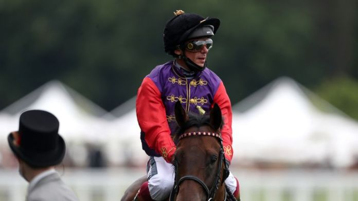 Dettori says Reach For The Moon is getting better with each race