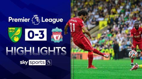 Liverpool vs Norwich highlights