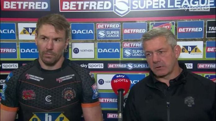 Daryl Powell oversaw his final game in charge for Castleford against Warrington, while Tigers captain Michael Shenton is now set to retire