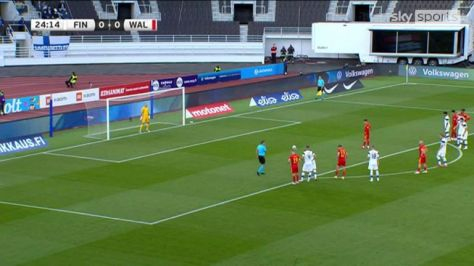 In Finland, Wales held to a goalless draw by Wales