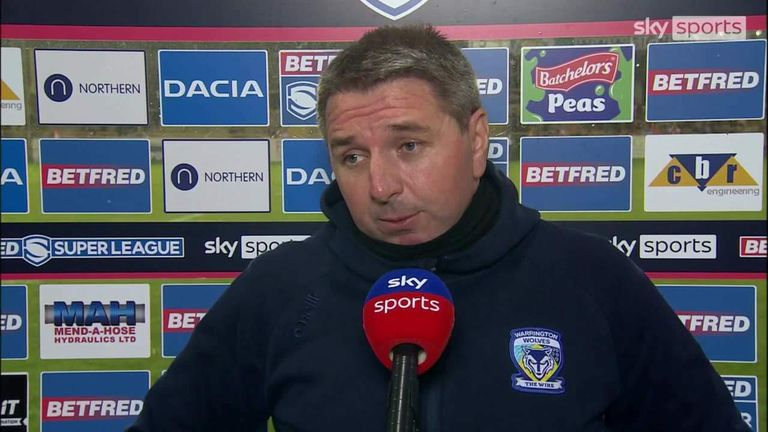 Warrington head coach Steve Price was pleased with their first-half performance in their win over Castleford, but was disappointed with what happened in the second half