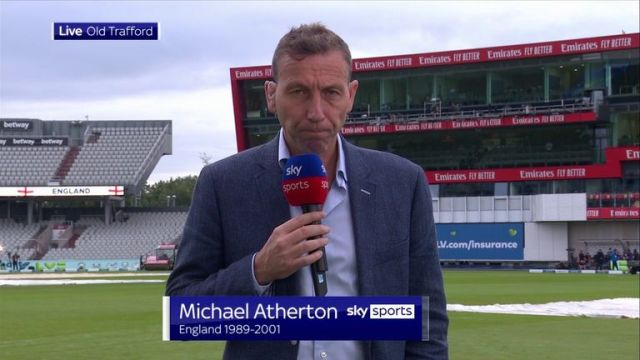 Michael Atherton says major sympathy must go to the fans after England's fifth Test against India was cancelled due to coronavirus concerns