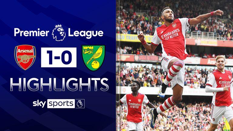 Arsenal 1-0 Norwich