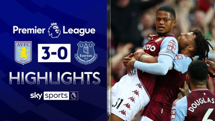 Villa v Everton highlights