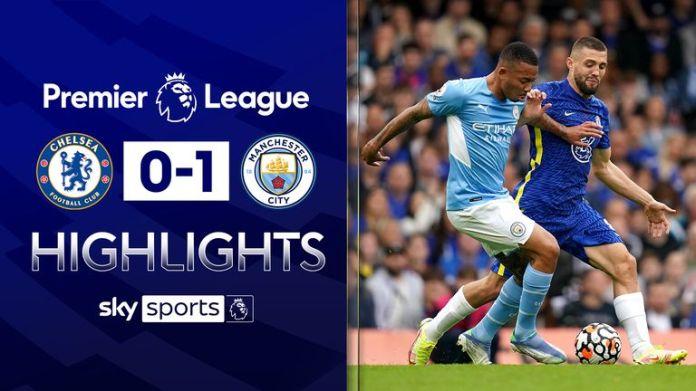 Man City beat Chelsea