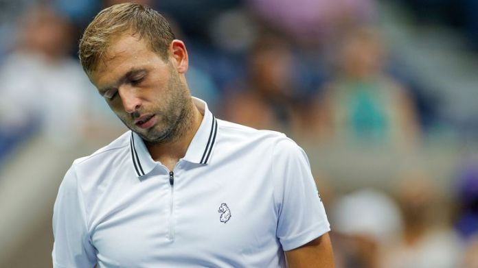 Dan Evans saw his US Open run come to an end at the hands of a ruthless Daniil Medvedev on Arthur Ashe Stadium