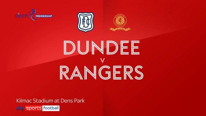 Dundee v Rangers