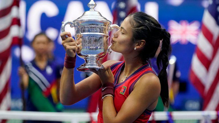US Open 2021: Emma Raducanu beats Leylah Fernandez to win women's singles  title in New York   Tennis News   Sky Sports