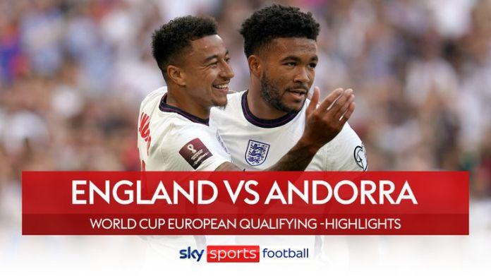 England v Andorra