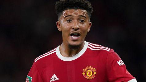 Manchester United winger Jadon Sancho (PA)