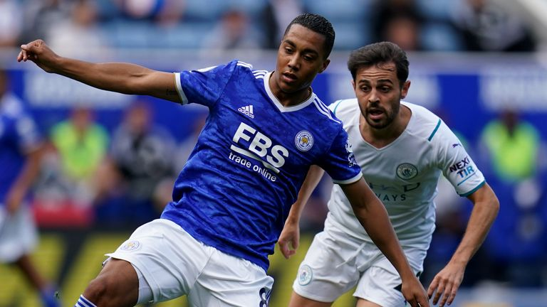 Youri Tielemans looks to make things happen