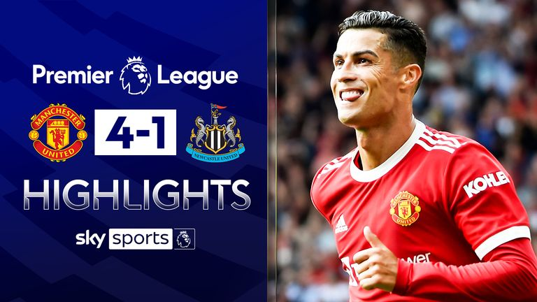 Man Utd 4-1 Newcastle