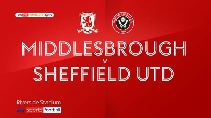 Middlesbrough v Sheff Utd