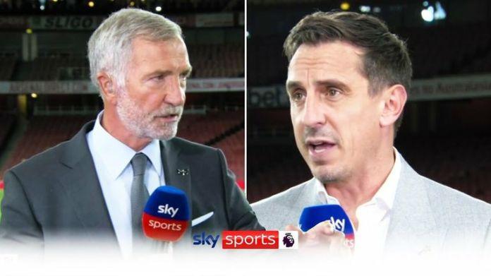 Neville on Spurs