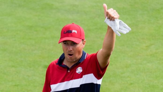 Jordan Spieth now has an away Ryder Cup victory in his sights