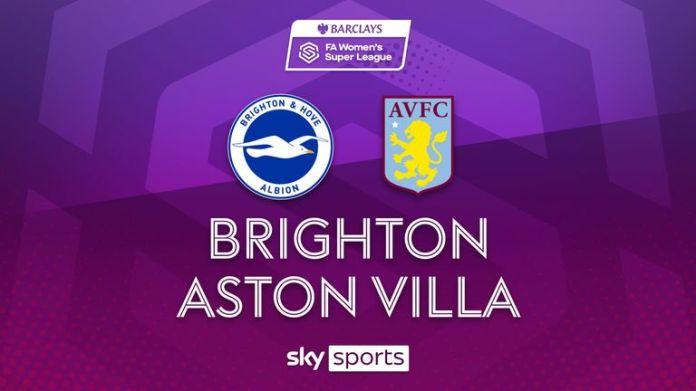 Highlights of the Women's Super League match between Brighton and Aston Villa.