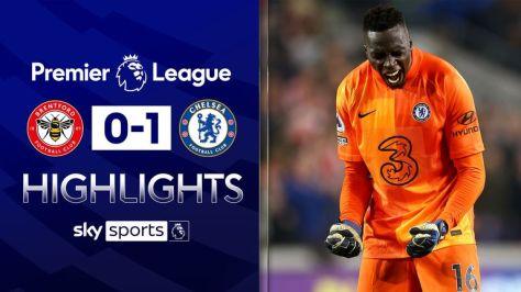Brentford v Chelsea highlights